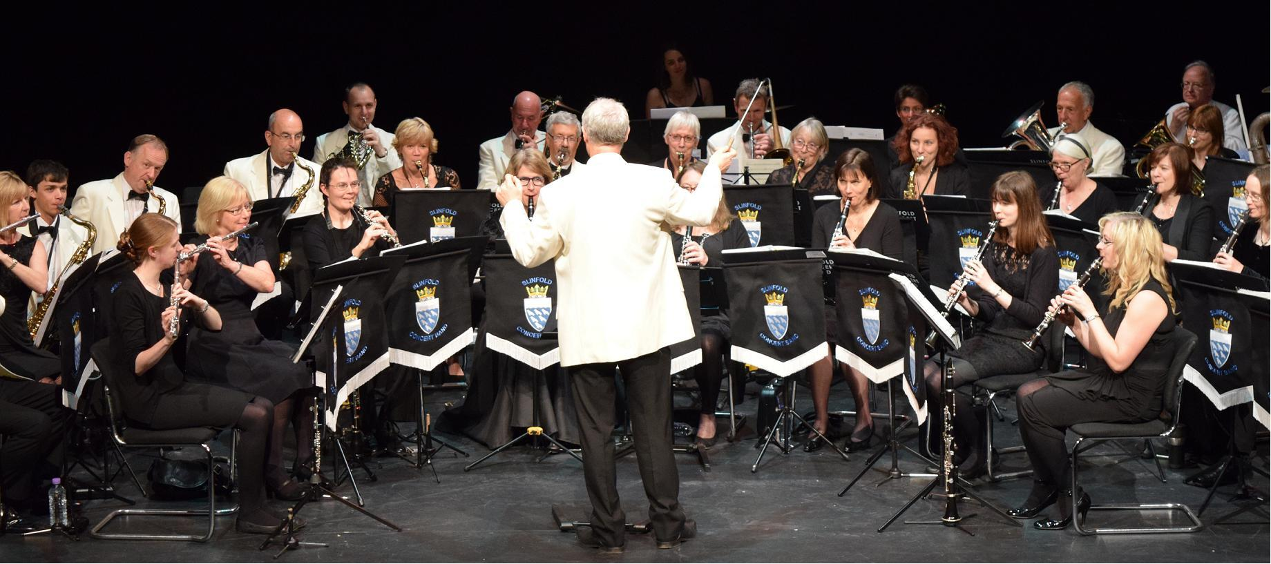 Slinfold Concert Band in concert at The Capitol, Horsham