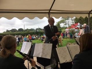 Christopher Newport conducts Slinfold Concert Band at Loxwood Fete